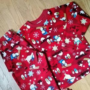 Size 7/8 kid fleece pajamas